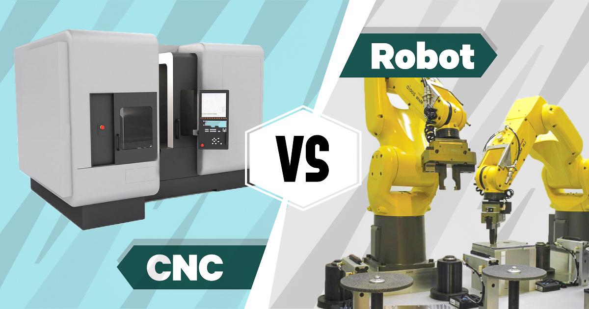 CNC Vs Robot - AV&R