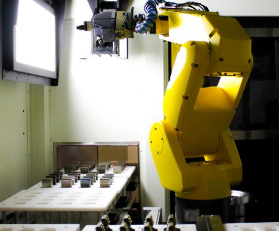 La solution robotisée d'inspection visuelle automatisée d'AV&R