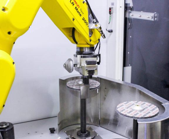 AV&R's Robotic Re-profiling System - BF-X 200-i