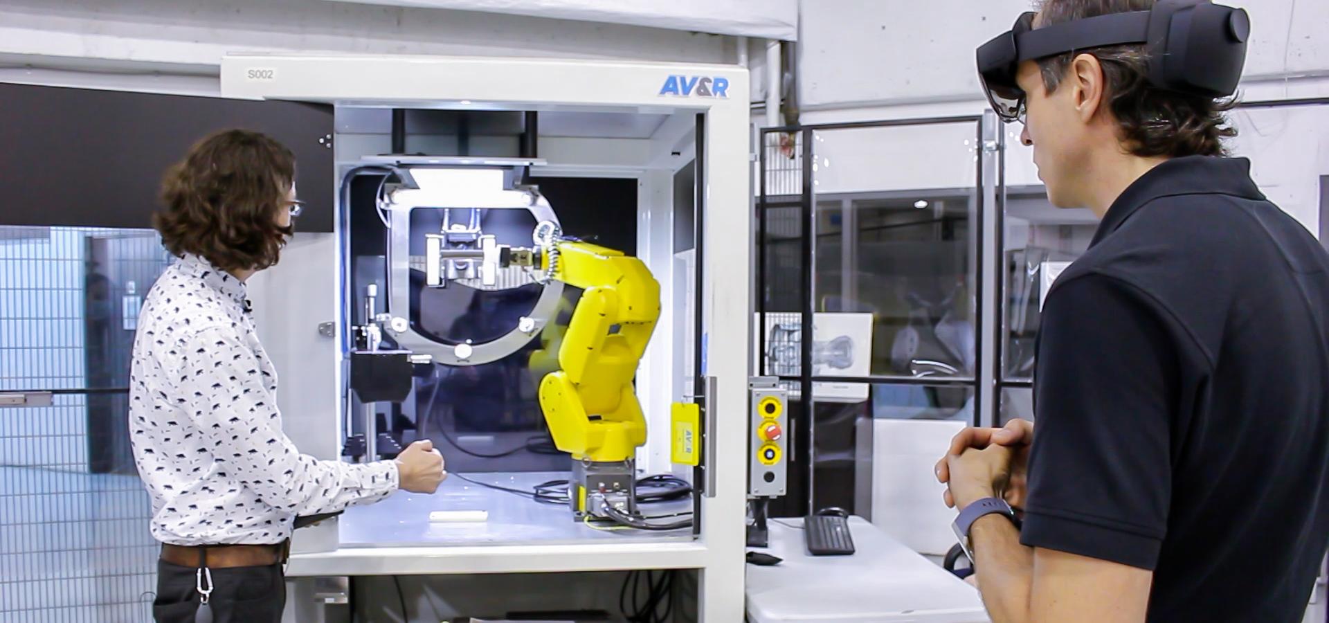 Inspection visuelle automatisée – AV&R
